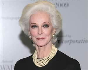 World's oldest model, Carmen Dell'Orefice
