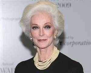 World's oldest model, Carmen Dell'Orefice