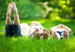 picnic w grandkids