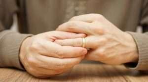 Mature divorce